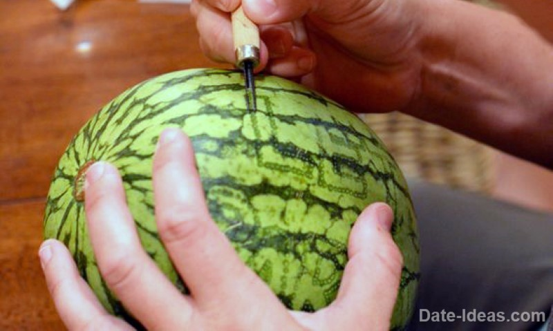 Carve Watermelons or Pumpkins 44